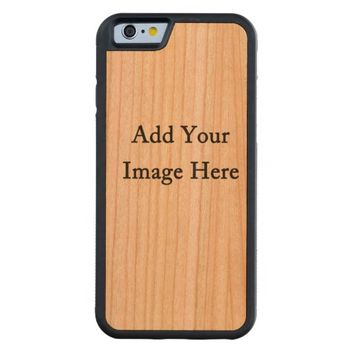 Design Your Own Custom Photo Carved® Cherry iPhone 6 Bumper Case