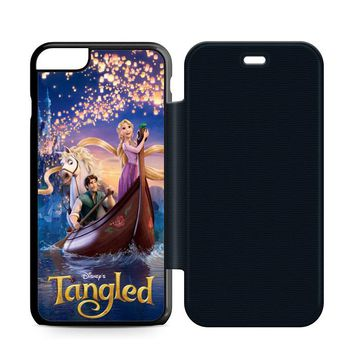 Disney Tangled Leather Wallet Flip Case iPhone 6 Plus | 6S Plus