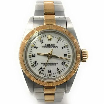 Rolex Oyster Perpetual No Date swiss-automatic womens Watch 67233 (Certified Pre-owned)
