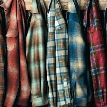 Vintage Mystery Unisex Hipster Flannel Shirts - All Colors & Sizes