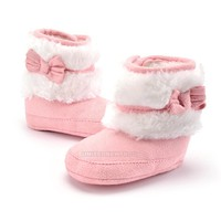 2017 Newborn Baby Infant Toddler Boy Girl Kids Winter Warm Snow Boots Crib Shoes