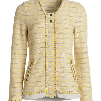 NIC+ZOE - Lemon Twist Jacket - Lemon Twist Multi