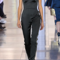 Embellished stretch-satin jumpsuit | Antonio Berardi | FR | THE OUTNET