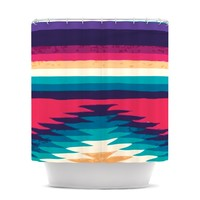 "Nika Martinez ""Surf"" Shower Curtain"