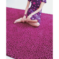 Nanimarquina Topissimo Simple Fuchsia Area Rug