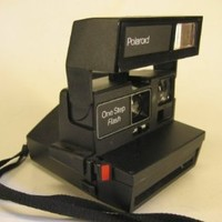 Polaroid One Step Flash Instant Film Camera