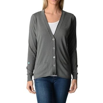 Fred Perry Womens Cardigan Grey