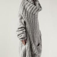 Fad Cowl Kneck Oversized Sweater