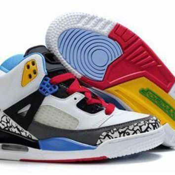New Nike Air Jordan 3.5 Spizike Kids Shoes White Blue