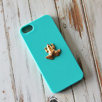 Frog iPhone 6 Plus Case Animal Gold iPhone 5 Case iPhone 5s Case Animal Galaxy Cover Cute Samsung Galaxy S3 Case Samsung Galaxy S4 Case