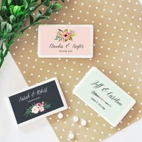 Mint to Be Favors - Floral Garden