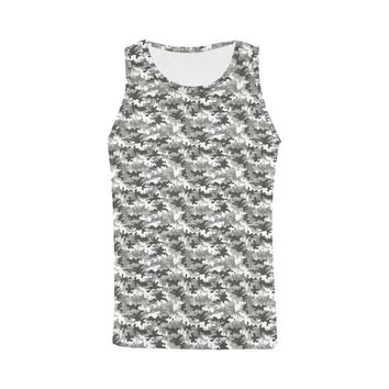 Camouflage Design 1 Men's All Over Print Tank Top