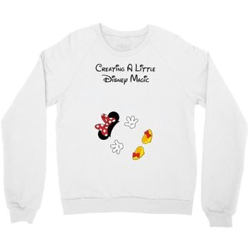 Creating A Little Disney Magic Minnie Mouse Crewneck Sweatshirt