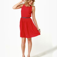 BB Dakota by Jack Rhetta Red Dress