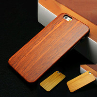 Cherry Wood Phone Case For iPhone