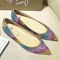 Women's shoes Christian Louboutin Decollete Strass New Fashion shoes I-AGG-CZDL