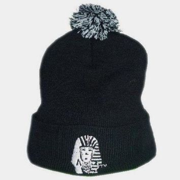 LMFON Perfect Last Kings Embroidery Women Men Beanies Winter Knit Hat Cap