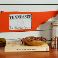 Tennessee picture frame 4x6