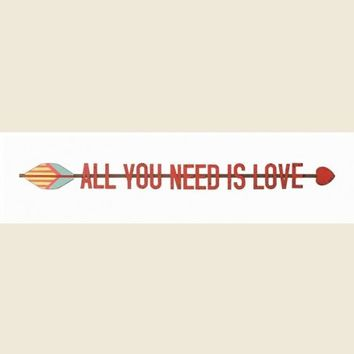 ALL YOU NEED IS LOVE WALL DECO - Junk GYpSy co.