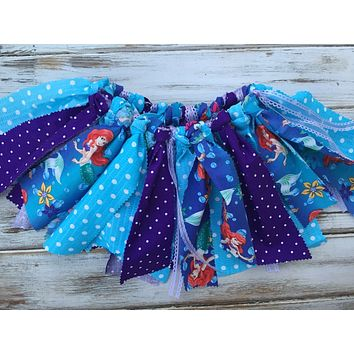Fabric tutu, Little Mermaid tutu