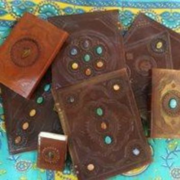 Medium Camel Leather Journals