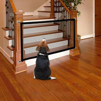 "43"" x 28""  Magic Folding Pet or Baby Safety Gate"