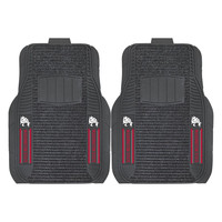 Washington State Cougars NCAA Deluxe 2-Piece Vinyl Car Mats