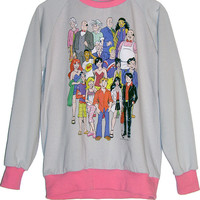 Archie Comics Cast Two Tone Sweatshirt