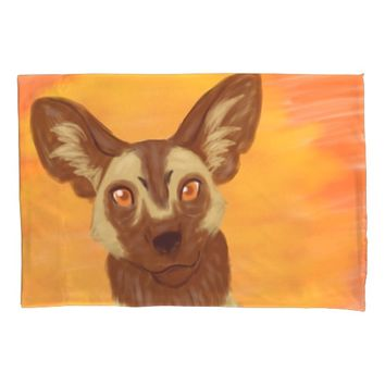 African Wild Dog Pillowcase
