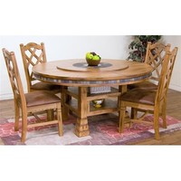 Sunny Designs Sedona Collection Five Piece Dining Set 1225RO
