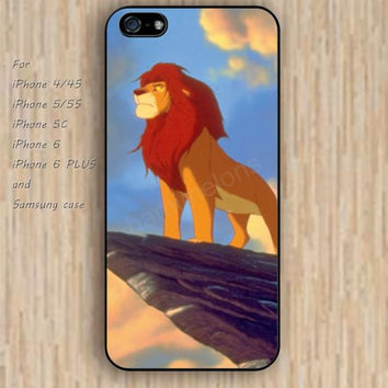 iPhone 5s 6 case Cartoon lion dream phone case iphone case,ipod case,samsung galaxy case available plastic rubber case waterproof B728