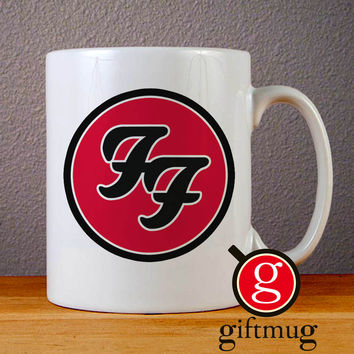 Foo Fighters Logo Ceramic Coffee Mugs