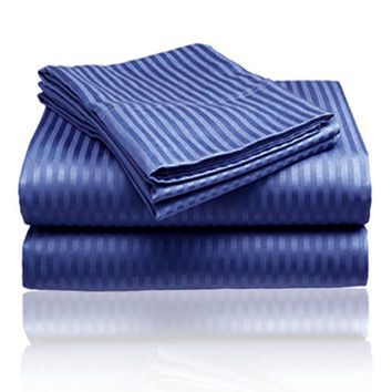ComfortLiving Color 4-Piece Sheet Set King - Navy