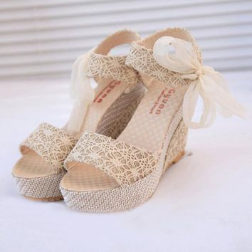 Women's Summer Platform Wedge Heel Sandals