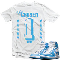 OutRank Apparel Chosen 1 UNC 1s Tee