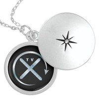 TVXQ ROUND LOCKET NECKLACE
