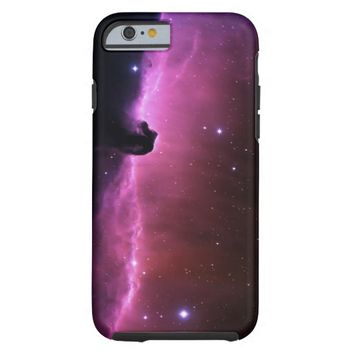 Beautiful Pink Purple Nebula Tough iPhone 6 Case