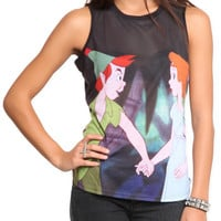 Disney Peter Pan Peter Wendy Top