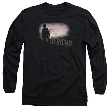 Jericho - Mushroom Cloud Long Sleeve Adult 18/1 Officially Licensed Shirt