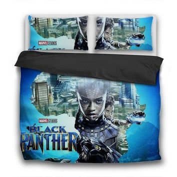 Princess Shuri 3 Pcs Bedding Sets