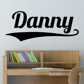 Danny Name Wall Decal