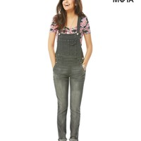 Grey Wash Denim Overall