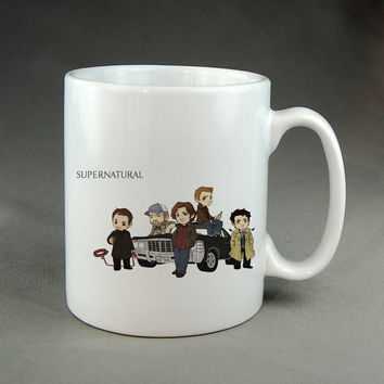 supernatural,coffee mug,tea mug,ceramic mug