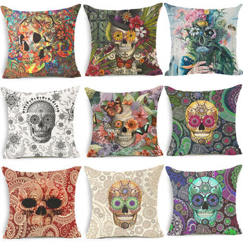 Homing Punk Cushion Covers for Sofa Throw Pillow