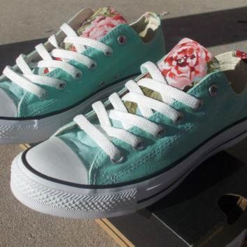 DCCK1IN floral converse shoes  2