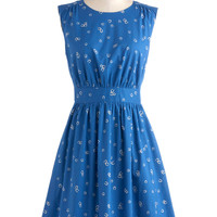Too Much Fun Dress in Horseshoes | Mod Retro Vintage Dresses | ModCloth.com