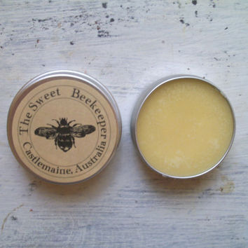 FREE SHIPPING Shea Lip Butter with honey, Australian mandarin and warm vanilla