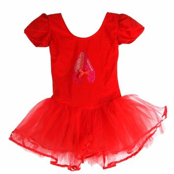 Gymnastics Leotard For Girls Child Girls Ballet Dress Professional Ballet Tutu Dress Leotard Dance Clothes Ballet Clothing
