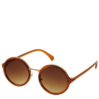90s Round Insert Sunglasses - Fashion Week Faves - New In - Topshop USA