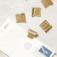 Lucent Brass Desk Collection by Anthropologie Brass